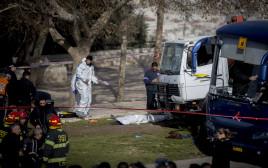 פיגוע דריסה בארמון הנציב בירושלים