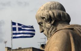 פסל של הפילוסוף היווני אפלטון