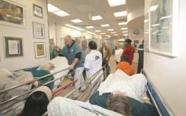 עומס בבית החולים סורוקה בבאר שבע
