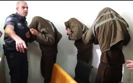 """מוחמד בן יוסף שינאווי, הנאשם ברצח גיא כפרי ז""""ל, יחד עם שני הסייענים"""