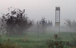 ערפל בתל אביב