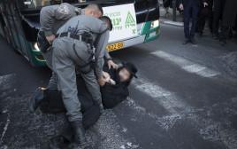 הפגנת חרדים בירושלים
