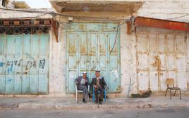 פלסטינים בעיר העתיקה, חברון