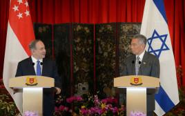 ראש הממשלה נתניהו נפגש עם ראש ממשלת סינגפור לי הסיין לונג