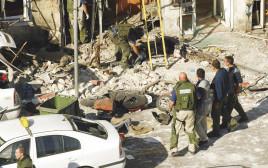 זירת ניסיון החיסול של זאב רוזנשטיין בדצבמר 2003