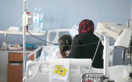 פצועים סורים מקבלים טיפול בבית החולים זיו בצפת