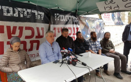 תושבי עמונה מכריזים על שביתת רעב