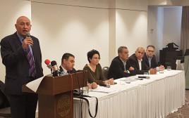 מסיבת העיתונאים של חבר הכנסת באסל גטאס