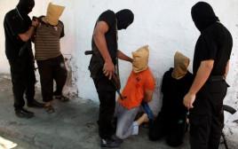 מעצר של משתפי פעולה על ידי חמאס