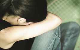 בחורה בדיכאון