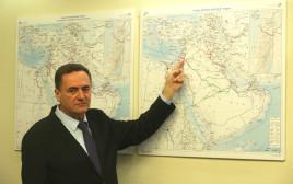 ישראל כץ מציג את תוכניתו המדינית