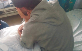 פצוע סורי בבית החולים זיו