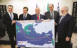 יובל שטייניץ ועמיתיו לשוק הגז באירופה