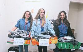 נוער ישראלי עוזר לפליטים בסוריה