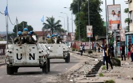 """כוחות האו""""ם בקונגו"""