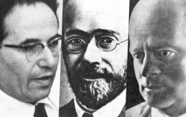 מימין: קצנלסון, קורצ'אק, ק. צטניק