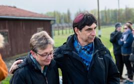 בני הזוג גולדין בפולין