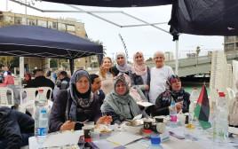 מפגש ישראלי-פלסטיני בכיכר רבין