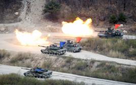 התרגיל המשותף של צבאות קוריאה הדרומית וארצות הברית