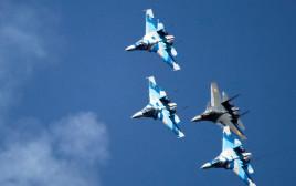 מטוסי סוחוי 27 של חיל האוויר הרוסי