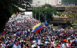 הפגנות של האופוזיציה בקראקס, ונצואלה