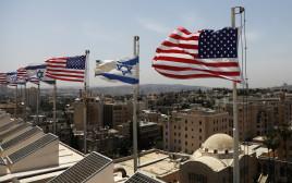 היערכות בירושלים לקראת ביקורו של הנשיא דונלד טראמפ