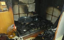 הבית שבו אירעה השריפה שבה מתה בראאה נאהד שורבג'י
