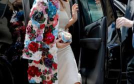 מלניה טראמפ עם ג'קט היוקרתי של דולצ'ה וגבנה