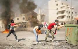 עימותים בין פלסטינים לכוחות הביטחון