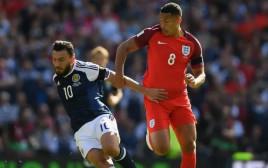 נבחרת סקוטלנד מול אנגליה