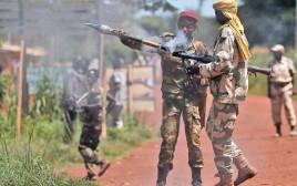 חיילים ברפובליקה המרכז־אפריקאית
