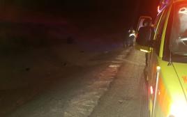 תאונת דרכים סמוך ליד מרדכי