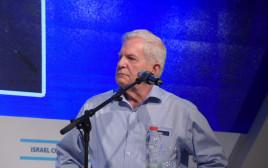 עמירם לוין בכנס השלום