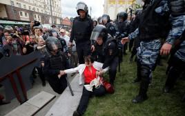 הפגנות ברוסיה נגד פוטין