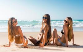 בנות בים, צילום אילוסטרציה