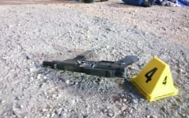הנשק המאולתר שנשא אחד המחבלים