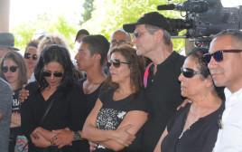 משפחתה של אופירה יוספי בהלווייתה