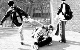 אלימות בבית ספר (אילוסטרציה)
