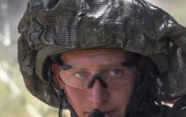 """קצין צה""""ל דוד קולובנצ'יץ'"""