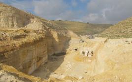 מחצבה במדבר יהודה