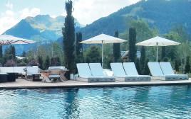 """מלון """"אלפינה"""" בגשטאד, שוויץ"""