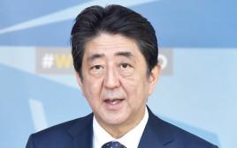 ראש ממשלת יפן שינזו אבה
