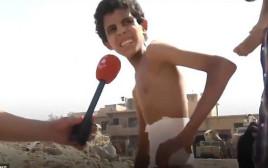ילד פצוע מחולץ במוסול