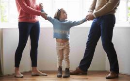 הורים גרושים (אילוסטרציה)(צילום: אינג אימג')