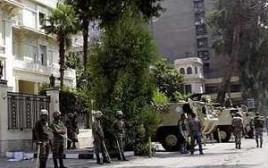 שגרירות ישראל בקהיר שעות לאחר המתקפה