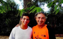 אורי בשה ובנו עמראל