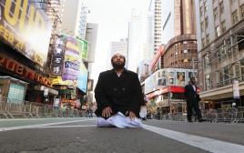 מוסלמי מתפלל