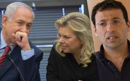 רביב דרוקר והזוג נתניהו