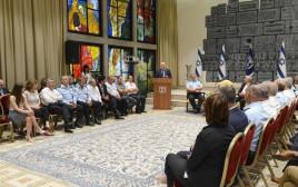 """הנשיא, המפכ""""ל וראשי הרשויות הערבים"""