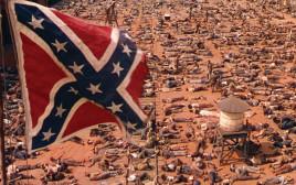 """סצנה המתארת את מלחמת האזרחים ב""""חלף עם הרוח"""""""